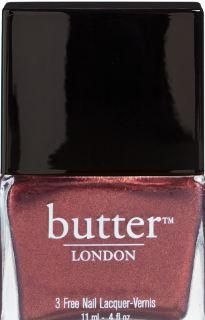 """""""Shag"""" Nail Lacquer from the butter LONDON 2012 Autumn Collection. Much prettier in person - like sparkly apple cider."""