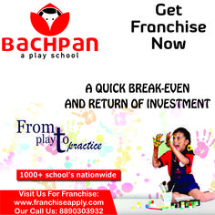 Play School Franchise Opportunity... #education_franchise #franchise_apply
