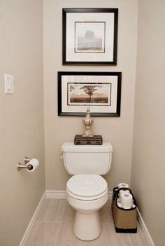 Small Half Bathroom Decor
