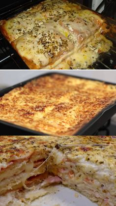 Rice Recipes, Cooking Recipes, Red Rice Recipe, Lasagna, Carne, Food And Drink, Menu, Cheese, Baking