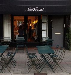 Aan de Amstel. Very good French/European food, no fancy nonsense, and great service! Book in advance.