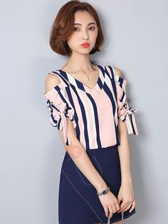 Women's Designer Clothing, Outfit Ideas & Style Inspiration © 2015-2018 AdoreWe.com Contact: admin@adorewe.com Privacy Policy Womens Fashion Casual Summer, Casual Fall Outfits, Chiffon, Moda Chic, Casual Chic Style, Fashion Over, Street Style Women, Fashion Outfits, Women's Fashion