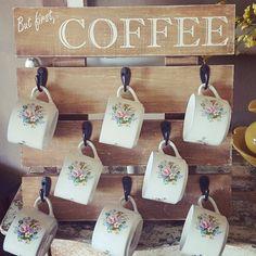 Coffee Mug Holder by KalaKleinDesigns on Etsy