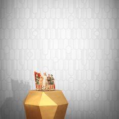 Drip the Scales Wallpaper by Aino Huhtaniemi Retro Wallpaper, Elle Decor, Designer Wallpaper, Contemporary, Modern, Wallpapers, Inspiration, Home, Biblical Inspiration