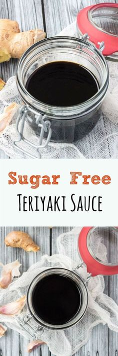 Sugar Free Teriyaki Sauce. Less sweet, and better for you, than other sugar-laden recipes.: