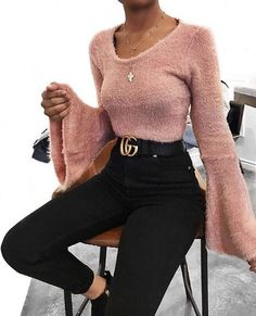 59 Inspiration Outfits That Will Make You Look Cool - Luxe Fashion New Trends - Fashion Ideas Mode Outfits, Fall Outfits, Casual Outfits, Fashion Outfits, Womens Fashion, Fashion Trends, Fashion Lookbook, Fashion Ideas, Pink Outfits