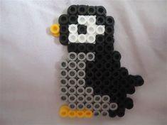 Melty Beads Penguin #beading #pearlerbeads #ideas