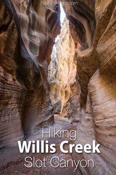 Willis Creek Slot Ca