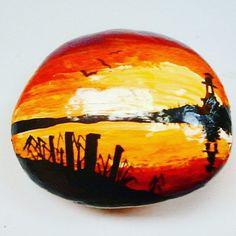 Lighthouse #rock #rockpainting #rockpainters #paintedrock #stone #stonepainting #paintedstone #art #instaart #instaartist #artofinstagram #hungarianart #hungary #hungarianartist #magyar #magyarmuvesz #mik #magyarinsta #magyarinstakozosseg #kezmuves #kezmuvestermek #ko #festettko