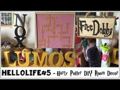 HelloLife #5 - Harry Potter DIY Room Decor