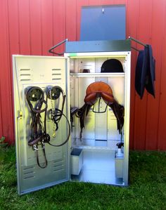 Horse Country Chic: Saddle Lockers