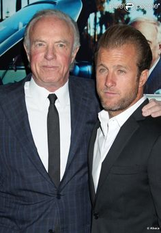 James and Scott Caan - been intrigued with James since The Godfather, long before any mention of the reboot of Hawaii Five-0