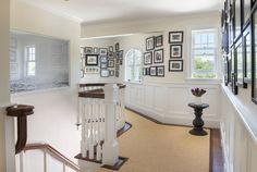 hallway photo gallery | Kate Jackson Design