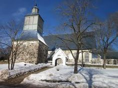 The Evangelic Lutheran Church of Parainen. Lutheran, Finland, Places, Outdoor, Outdoors, Outdoor Games, Outdoor Living, Lugares