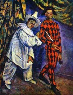 Paul Cézanne- Pierrot and Harlequin.JPG