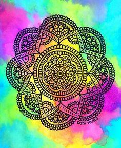 Esta es una hermosa mandala y es de Dani Hoyos :)