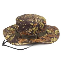 0c451d2a7da Camouflage Boonie Hat with Wide Brim – Choice Camo Fisherman s Hat