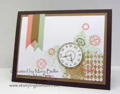 Stamping to Share: 5/15 Shoebox Swaps from our May Stamping to Share Demo Meeting, Mary Bellis