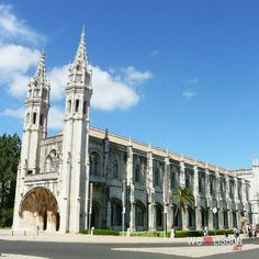 Jeronimos monastery in #Lisbon #Portugal http://www.welovelisbon.net/activities/jeronimos-monastery …