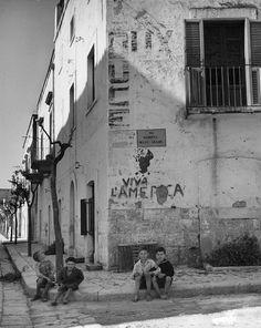 Italian Vintage Photographs ~ Alfred Eisenstaedt - Rome (1947)