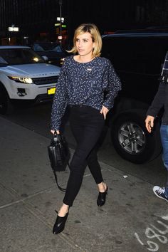 Celebrities who know how to make jeans chic: Emma Roberts
