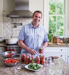 Putting Up: Kevin Johnson shares recipies for preserving the season's best produce