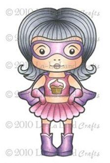 Super Cupcake Marci Digi Stamp