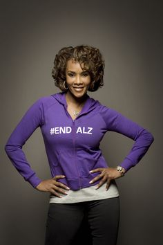 """You always think that it can't affect you."" - Vivica A. Fox, Alzheimer's Champion #ENDALZ"