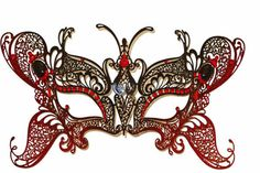 Butterfly Metallo Red/Black