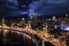 The Bund Shanghai by JohnSu