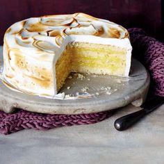 Lemon Meringue cake - Woolworths Online
