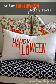 No Sew Happy Hallowe