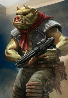 GAMORREAN SQUEAKY