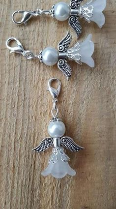 20 Stück Tifoso Gastgeschenk Engel Taufe Hochzeit Kommunion The post 20 piece pendant guest gift angel baptism wedding guardian angel lucky charm godback beads fairy guest gift communion appeared first on PINK DiY. Diy Jewelry Unique, Diy Jewelry To Sell, Diy Jewelry Tutorials, Diy Jewelry Making, Jewelry Crafts, Handmade Jewelry, Custom Jewelry, Bead Jewellery, Beaded Jewelry