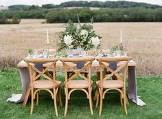 Lavender and Green Wedding Table | photography by http://natashahurley.com/
