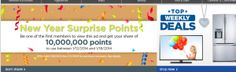 FREE: ShopYourWay Rewards Points for Clicking on Link 1/8 - 1/11