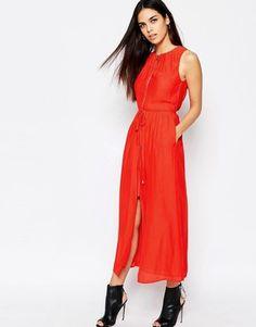 Shop Now - >  https://api.shopstyle.com/action/apiVisitRetailer?id=616396086&pid=2254&pid=uid6996-25233114-59 AQ AQ AQ/AQ Cut Out Midi Dress With Slash Neckline  Shop Now...