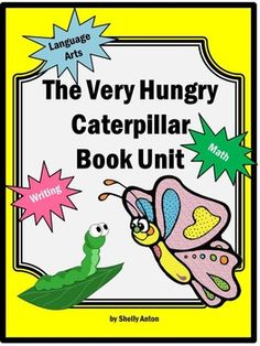 The Very Hungry Caterpillar: This 45 page unit is designed to supplement the book, The Very Hungry Caterpillar by Eric Carle.  The activities focuses on lower elementary math and literacy standards, primarily for 1st and 2nd grade.  Activities include key ideas and details, craft and structure, butterfly vs.