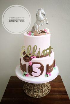 Horse themed birthday!