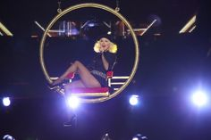 "Lady Marmalade, aka Christina Aguilera, soars to new heights during a performance on ""The Voice"" on Nov. 4 in Los Angeles"