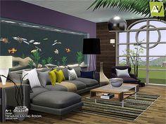 Newark Living Room by ArtVitalex for Sims 3
