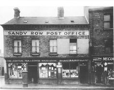 Belfast City, Bangor, British Isles, Post Office, European Travel, Northern Ireland, Old Photos, The Row, Past
