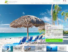 Tvorba web stránky pre rezort