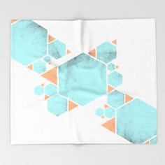 Buy Confidence Throw Blanket by xiari. Worldwide shipping available at Society6.com. Just one of millions of high quality products available. orange, blue, pop, light, limpet shell, texture, gray, hex, hexagon, hexagons, triangle, triangles, geometry , happy ,confidence, psychology, geometric, abstract, pattern, free, freedom , vintage, color, joy, wisdom, energy, internal, connection, yoga, balance, asymmetry