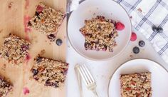 Mixed Berry Oat Bars Recipe | Pamela Salzman & Recipes