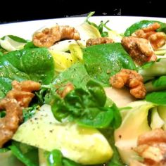 One Perfect Bite: Endive, Pear and Watercress Salad