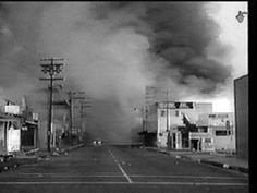 Racial riots rocked American cities in 1965, the worst of which occurred in Watts section of LA where 34 died over 5 days of unrest