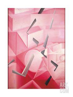 The Spell Is Broken Giclee Print by Giacomo Balla at Art.com