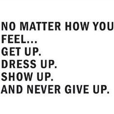 Ya just gotta keep going!!