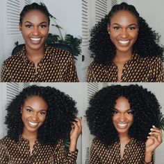 Nice crochet install @kiitana Read the article here - http://www.blackhairinformation.com/hairstyle-gallery/nice-crochet-install-kiitana/